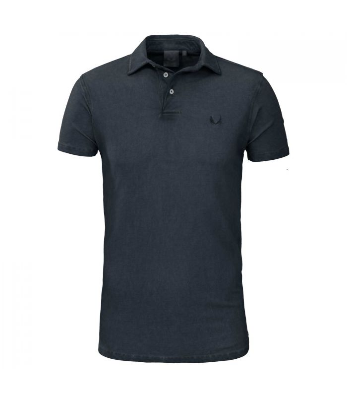 ZUMO - Poloshirt Tommy Dirty wax navy blauw