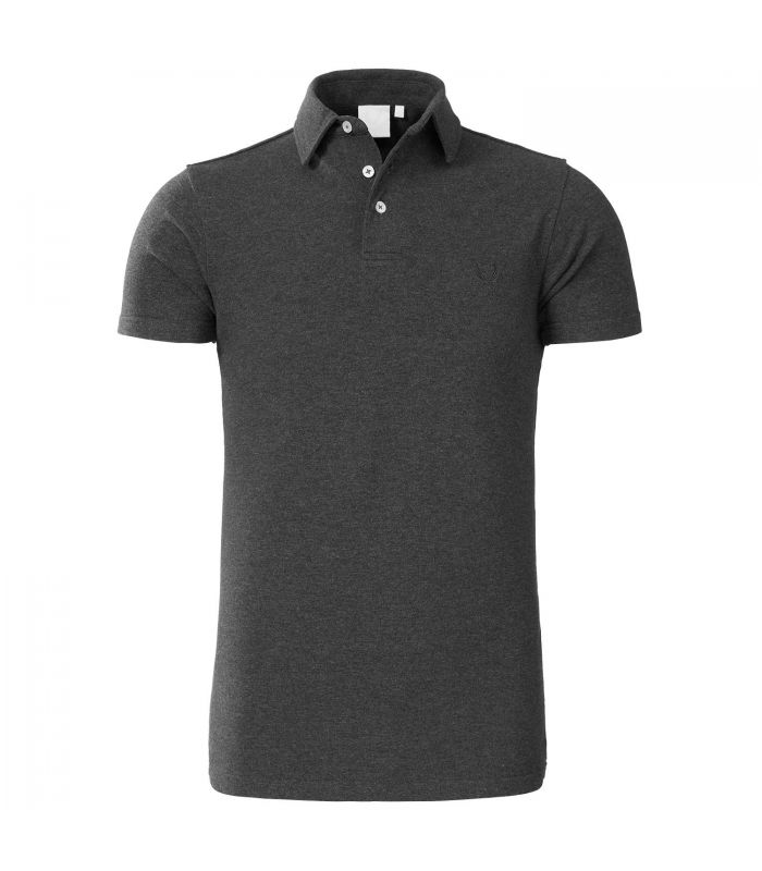 ZUMO - Poloshirt Tommy stretch basic wit