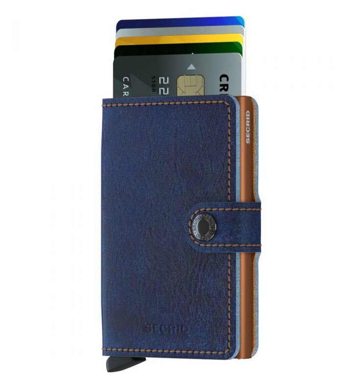 SECRID - Secrid mini wallet leer Indigo 5