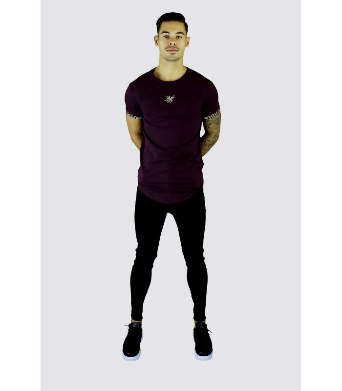 SIKSILK Jeans basic skinny denim wassing zwart