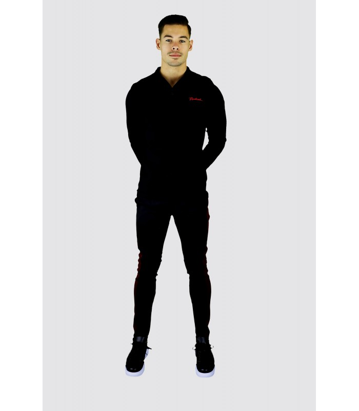 RADICAL Trackpants zwart wit