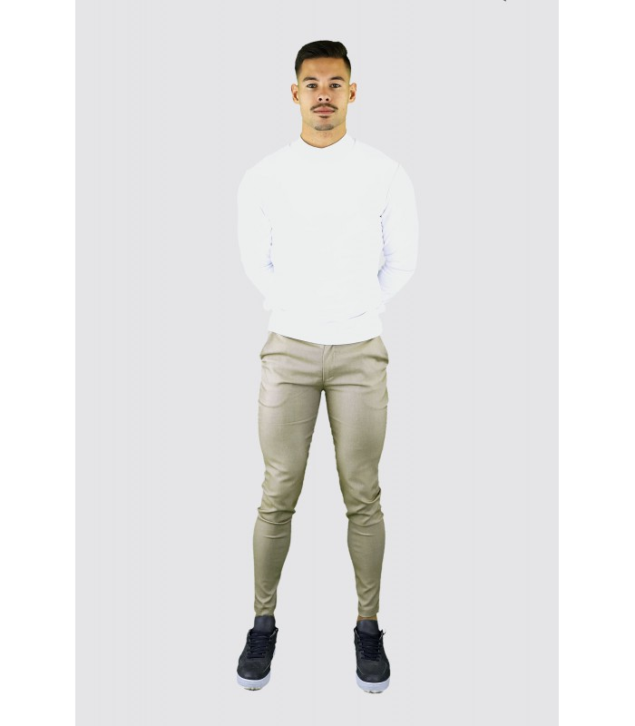 FRILIVIN Stretch skinny chino beige