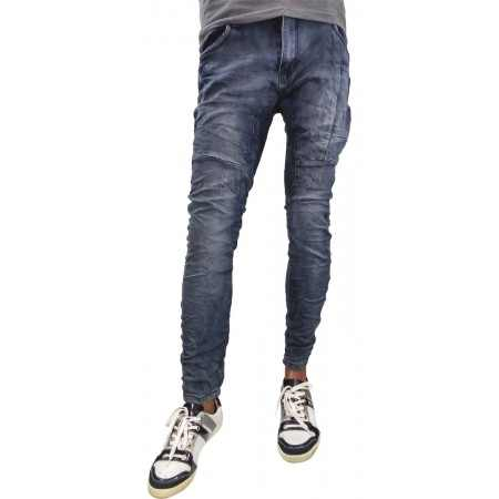 Chino baggy blue washed