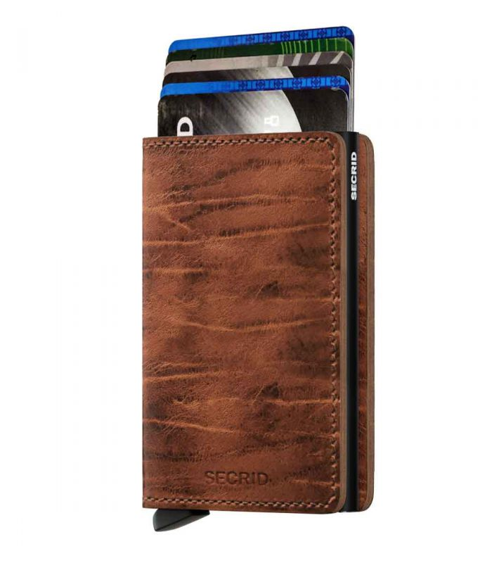 SECRID - Secrid slim wallet leer Dutch Martin whiskey